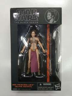 Princess Leia (Slave Outfit) Starwars Black Series by Hasbro