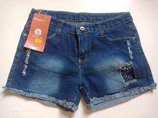 Hipster denim short