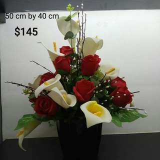 Flowers Faux Arrangement AAA0111