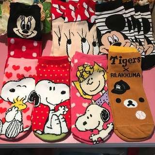 🚚 卡通襪子