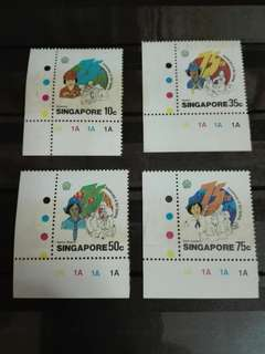 Singapore Stamps girl guides