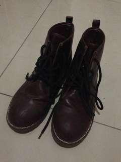Dr. Martin inspired women boots
