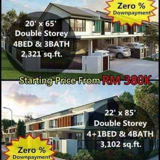 FREEHOLD 20x65 / 22x85 Double Storey Landed House only 3xxK !!
