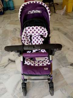 Stroller double side usable and foldable