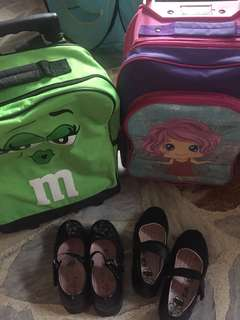 Used School Stroller Bags and Shoes