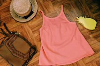 Bright Peach Tank Top