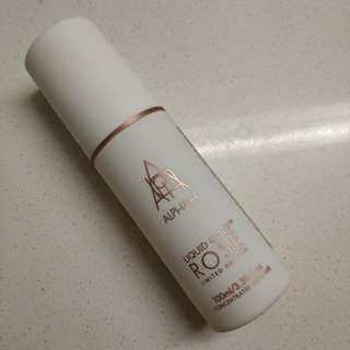 Alpha-H Liquid Rose Gold chemical peel exfoliant