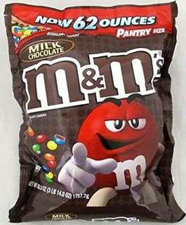 M&M MILK CHOCOLATE