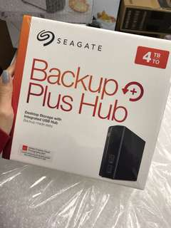 Seagate Backup Plus Hub 4TB Storage