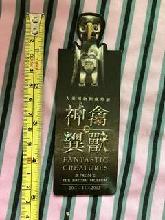大英博物館磁貼書籤,British museum magnet bookmark