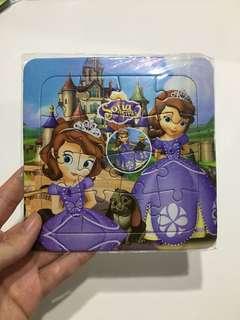 Princess Sofia Puzzle + Aristocats Stickers