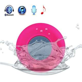 Mini Waterproof Wireless Bluetooth Speaker (Pink)