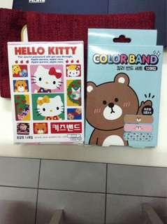 Hello Kitty & Bear Plasters