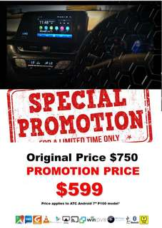 "🎈Special Promotion 2018🎈 Headunit Universal Android 7""-9""-10.2"" (02-05-2018 Start Promotion)"