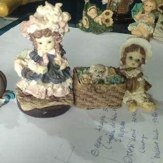 Patung cute 1set mini