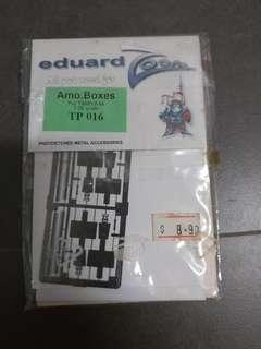 Eduard photoetched TP016 Amo Boxes for Tamiya kit