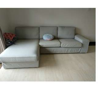 Fabric Sofa - 1-year old from IKEA - very well kept