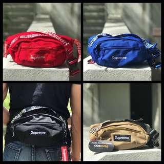 Supreme SS18 waist belt bag fanny pack