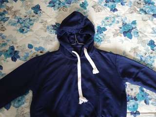 Crop Jacket Darkblue / FREEONGKIR JABODETABEK