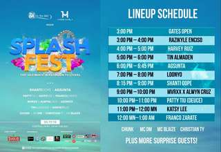 Hydro splash fest tickets