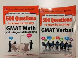 GMAT VERBAL & MATH (10 SGD for both)
