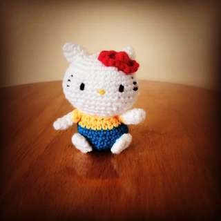 Handmade Hello kitty amigurumi