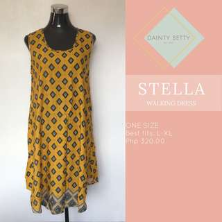Stella Women's walking dress