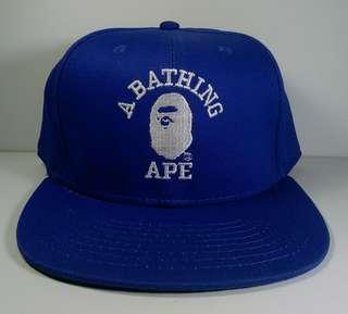 Bape a bathing ape streetwear mens snapback cap