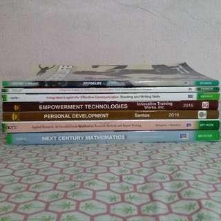 SHS Textbooks for sale!