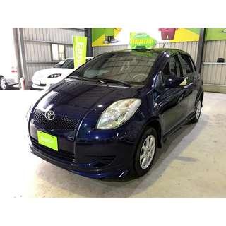 2009年 豐田 YARIS 深藍色 1.5