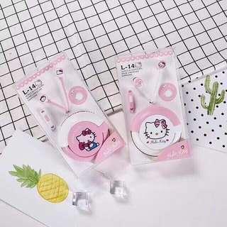 Hello Kitty Earphones wt pouch