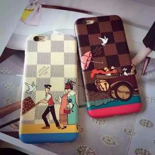 Lv travelling iPhone Case