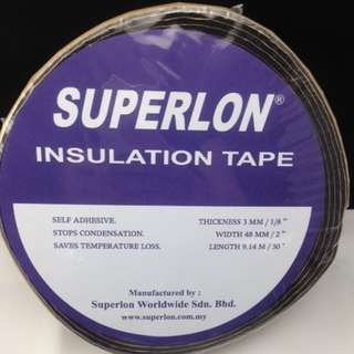 INSULATION FOAM TAPE / INSULATE PIPE TAPE / GASKET TAPE