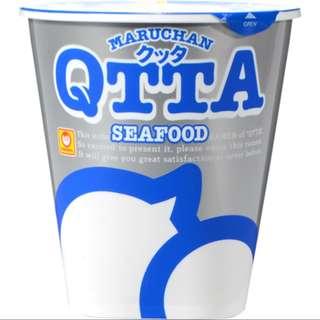 日本QTTA 海鮮味杯麵