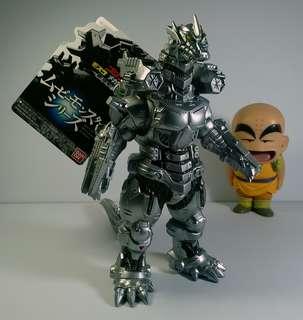 Authentic Bandai 2004 Mecha Godzilla japan toy