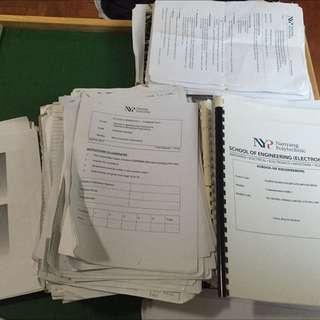 Nanyang Polytechnic Year 1-3 Mechatronics Engineering Textbooks And Notes