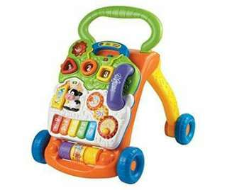 VTECH WALKER (USED BUT NOT ABUSED)