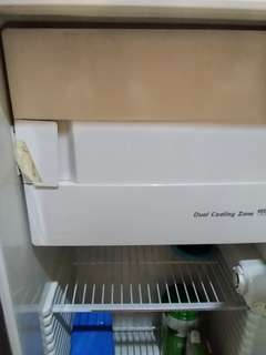 Used but not abused...selling our Kelvinator 2 refrigerator.