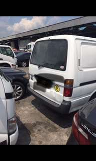 Scrap cars and commercial vehicles