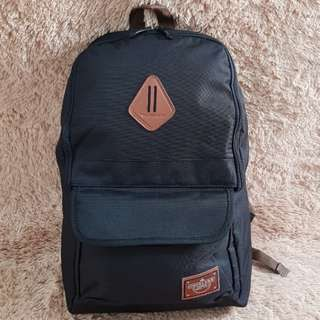 PROMO JUNI BUY 2 GET 1 FREE!!! Tas Ransel Backpack Tracker by Gunung Kawi Black
