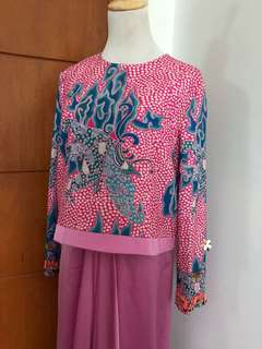 Jovian Mandagie Kurung New With Tags