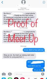 Proof of Meet Up - Taguig