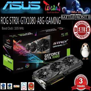 Asus ROG STRIX GTX 1080 Advance 8G GAMING..