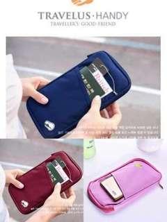 Passport holder pouch