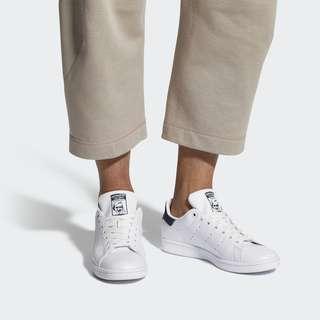 unisex adidas Stan Smith White & Green Shoes size 35-45