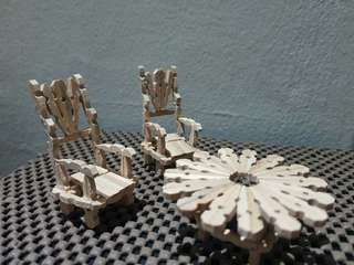 Mini Table and Chairs
