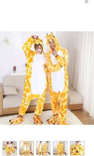 Giraffe Onesie Kigurumi Adult Pajama