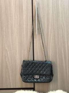 Chanel inspired slingbag