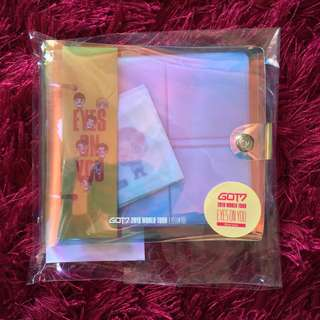 [Ready Stock] GOT7 Eyes On You World Tour (GOTOON Seal Mini Binder)