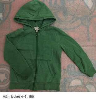 H&m jacket 4-6t